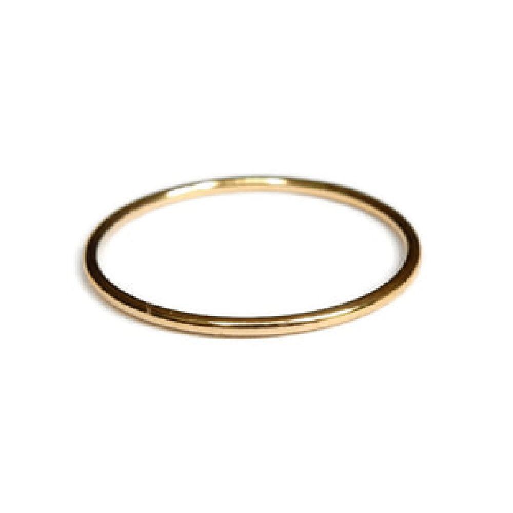 Gnoes | Ring glad gold filled