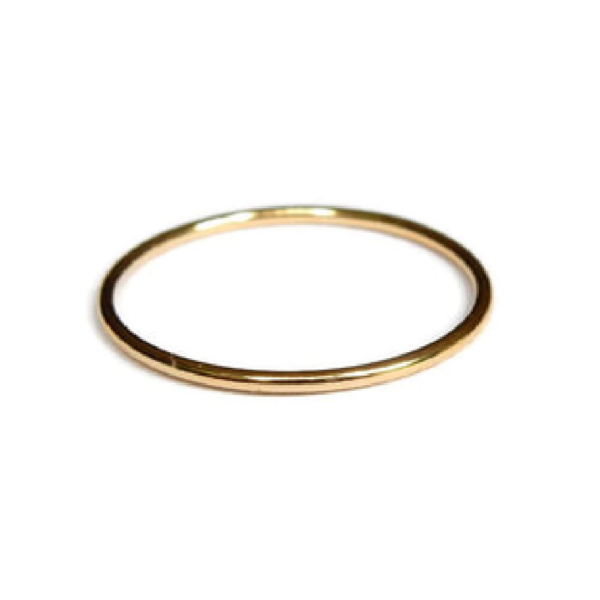 Gnoes | Ring glad gold filled