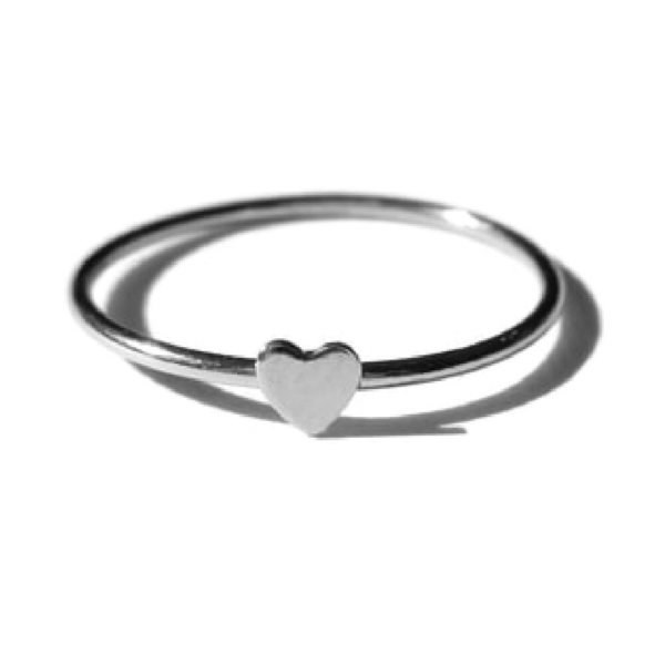 Gnoes | Ring hartje sterling zilver
