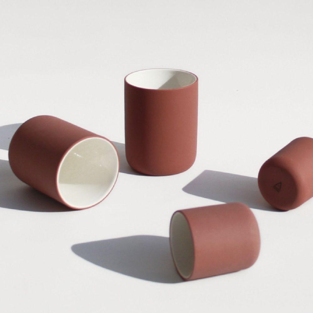 Archive koffiemok 150 ml terracotta