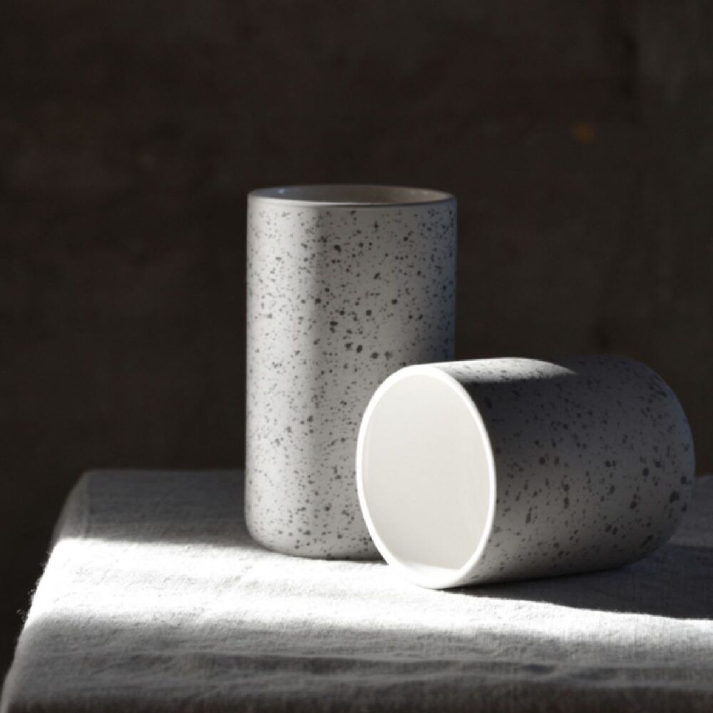 Archive koffiemok 150 ml speckled