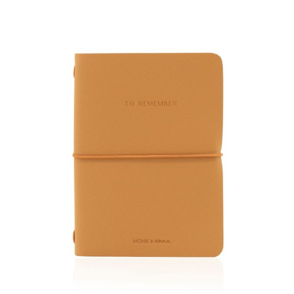 Cashew Notebook M Vegan Leather | Monk&Anna