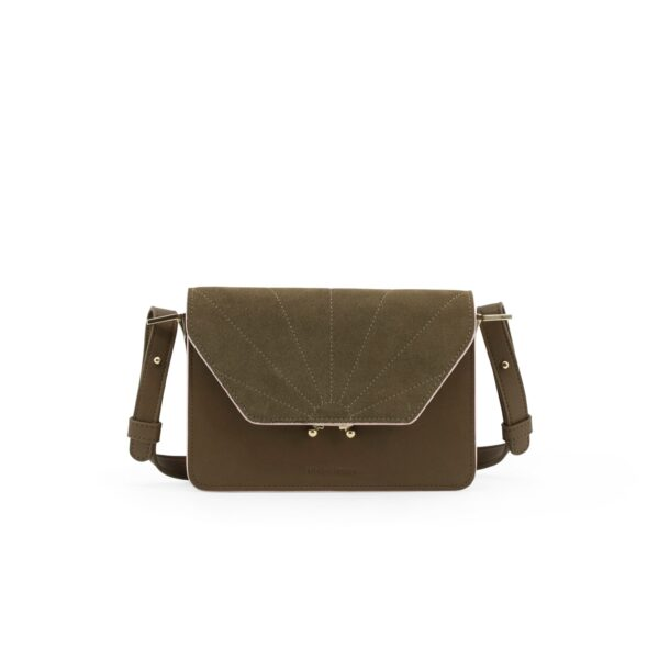 Shoulder bag ton sur ton olive green Sticky Lemon Sis Club