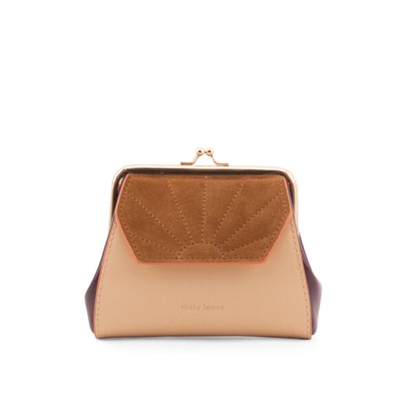 Wallet Coloré Clay/beige Sticky Lemon Sis Club