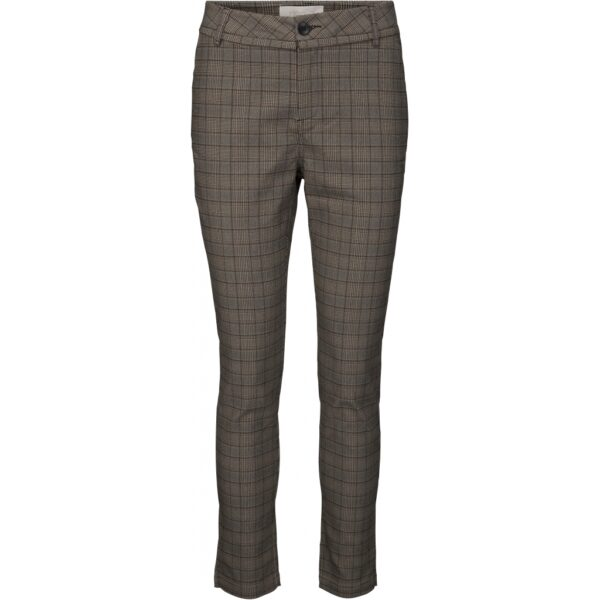 Minus New Carma almond checked 7/8 pants