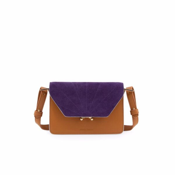 Shoulder bag ton sur ton cider brown/purple Sticky Lemon Sis Club