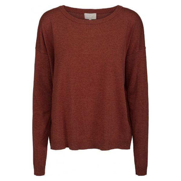 Elne knit Redrose Melange | Minus