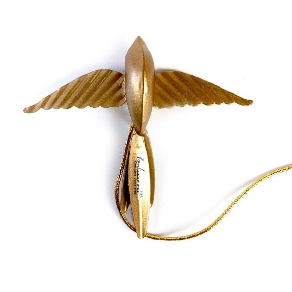 Metalen vogel goud | Imbarro