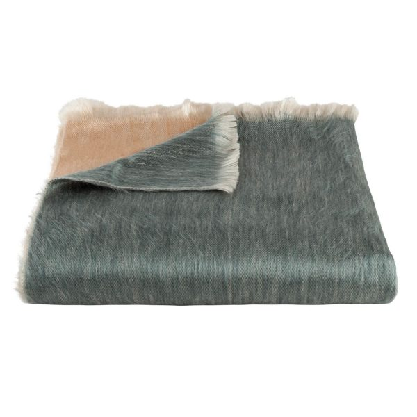 Teal Oyster Brushed Ombre | Bufandy