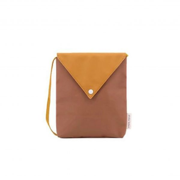 Sugar brown + caramel fudge Envelope bag | Sticky Lemon