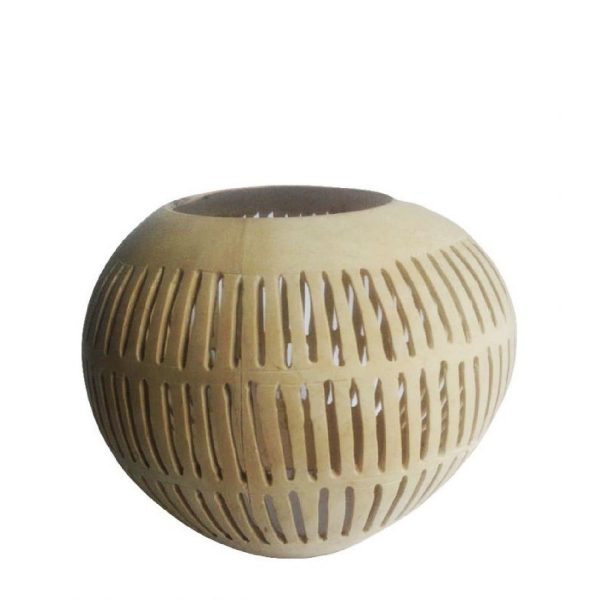 Kokosnoot waxinelichthouder Dayo | Earthware