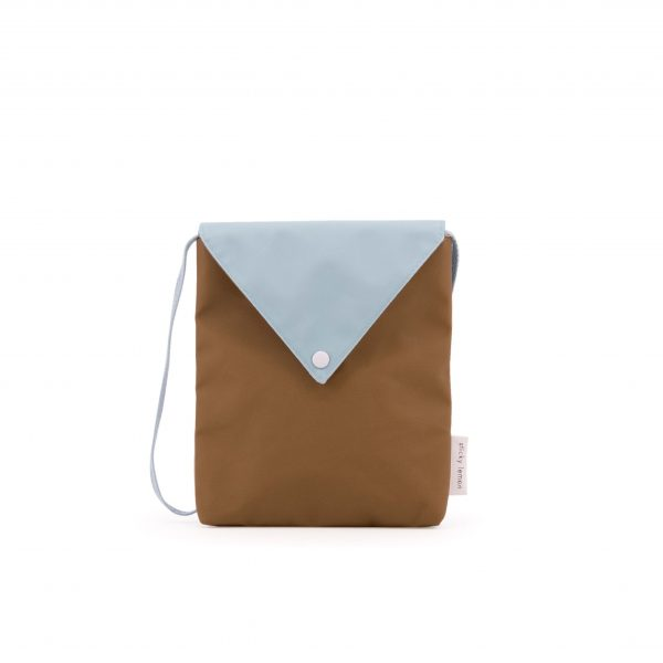 Misty green + gold green Envelope bag | Sticky Lemon