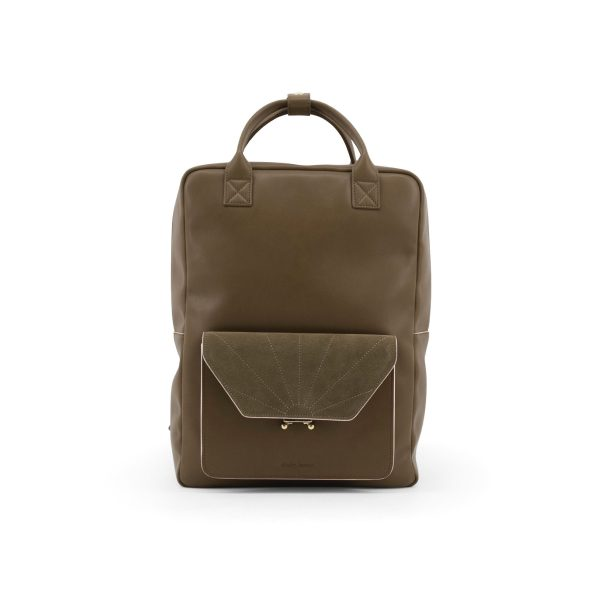 Olive green Backpack | Sticky Lemon Sis Club