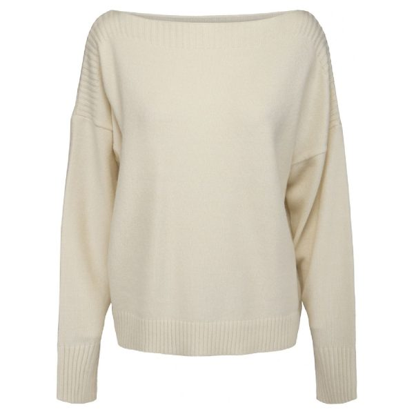 Paloma Boatneck Pullover | Peppercorn