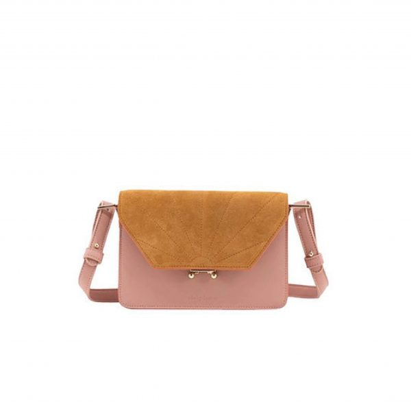 Schoulder bag dusty pink Sticky lemon Sis Club