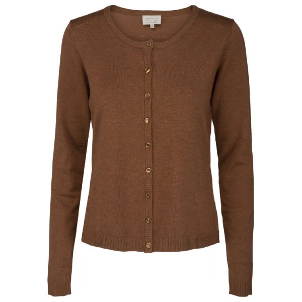 Brown sugar melange New Laura cardigan | Minus