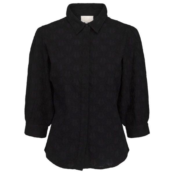 Andora shirt black | Minus