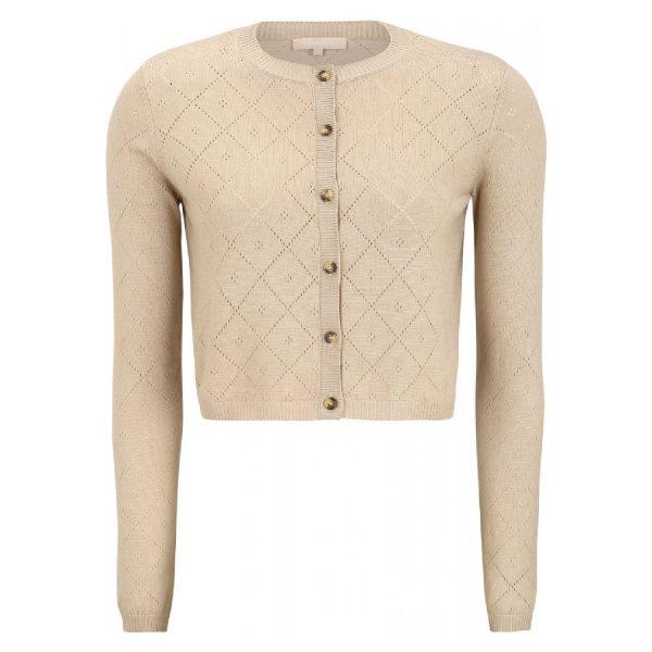 Lisa cropped cardigan Knit | Soft Rebels