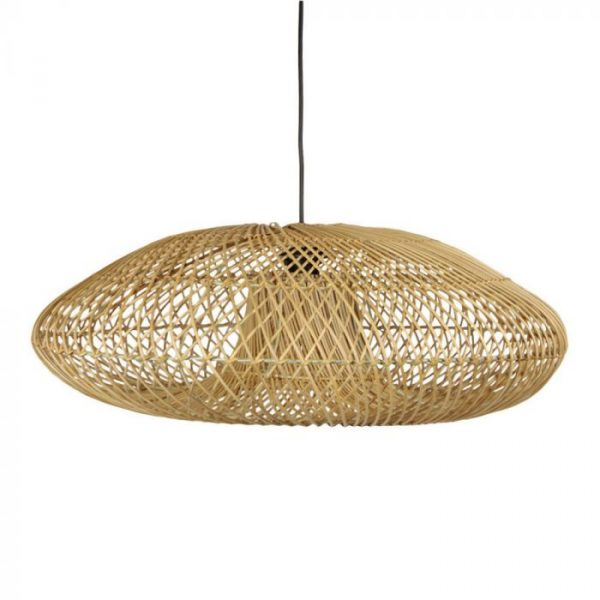 Rotan hanglamp naturel Kaja | Earthware