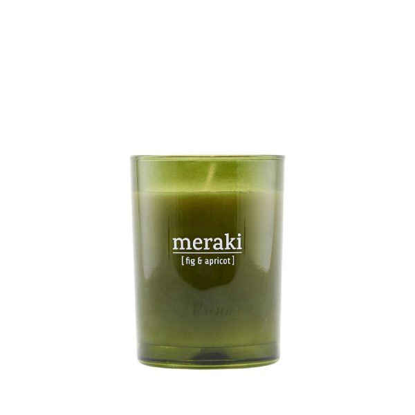 Scented candle Fig & apricot | Meraki