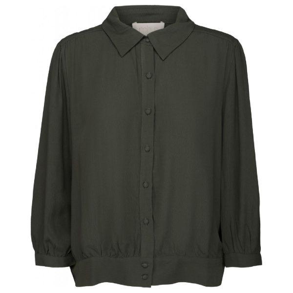 Jilla shirt army green | Minus