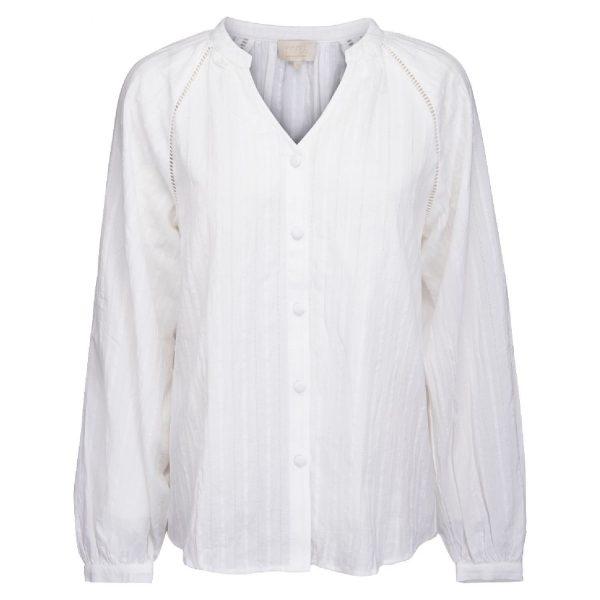 Bella shirt Ivory | Minus