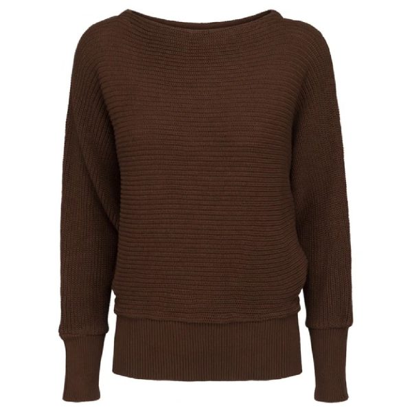 Roxanna Boatneck Pullover | Peppercorn