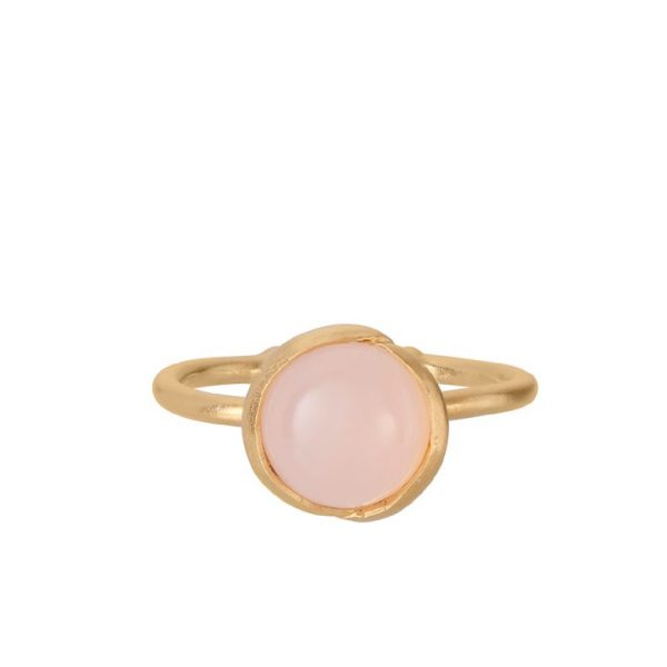 Aura Rose Ring gold plated | Pernille Corydon