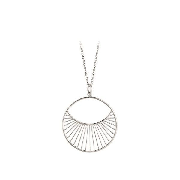 Daylight Necklace short Sterling silver | Pernille Corydon