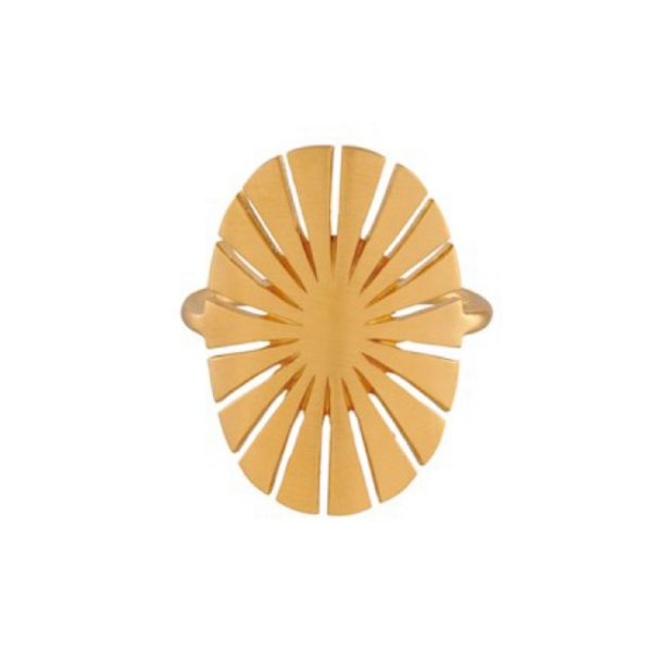 Flare Ring gold plated | Pernille Corydon