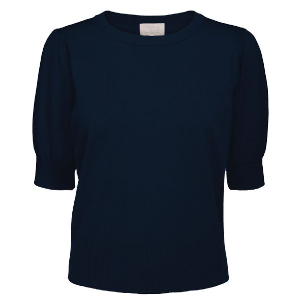 Liva Knit Tee D.Blue | Minus