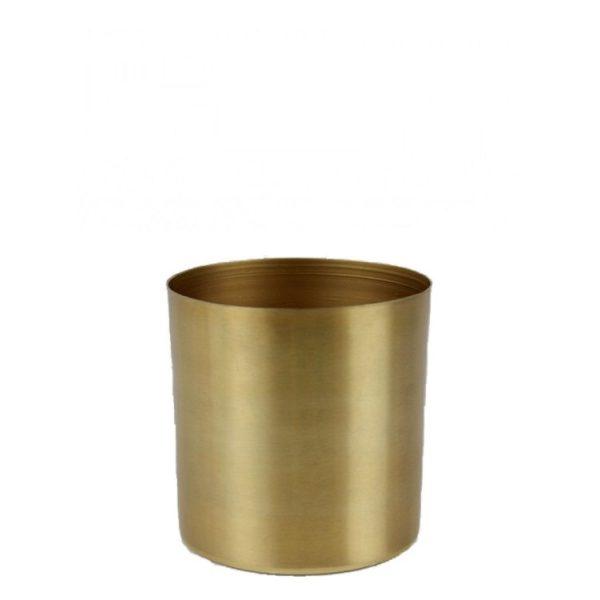 Plantpot metaal | Goud