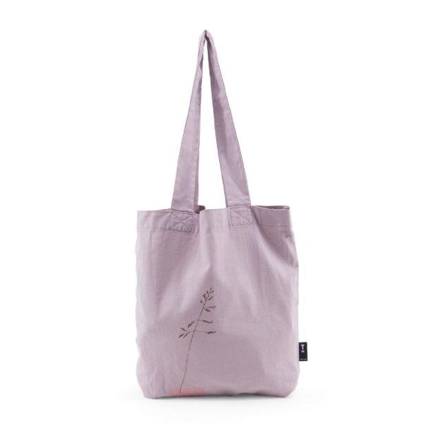 Tinne+Mia Feelgoodbag Linen Tote Bag Orchid Hush
