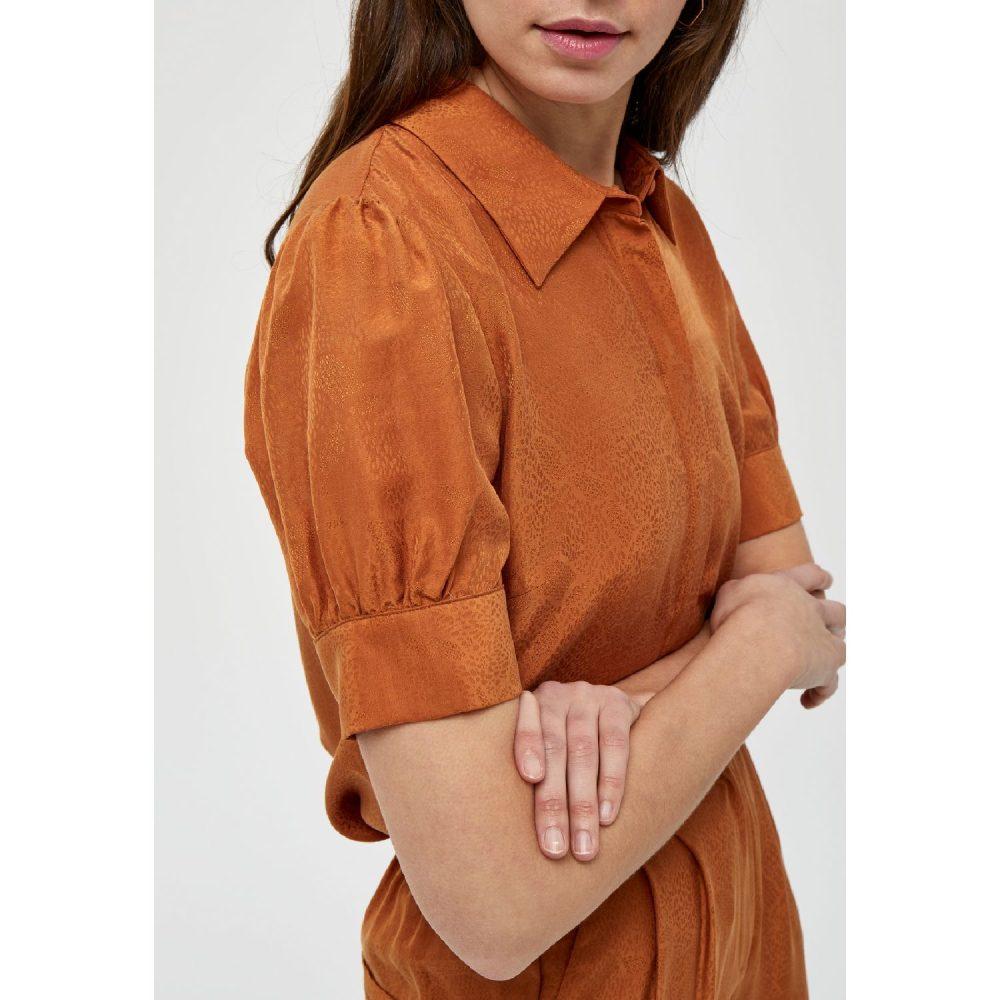 Safika Shirt Burned Hazel   Minus