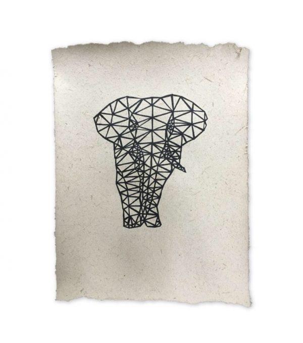NA Design | Poster Olifant