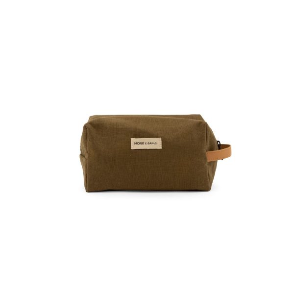 Toiletry bag Olive   Monk&Anna