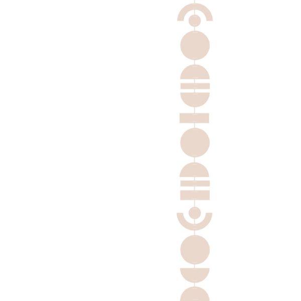 ABSTRAKT Slinger beige | Jurianne Matter