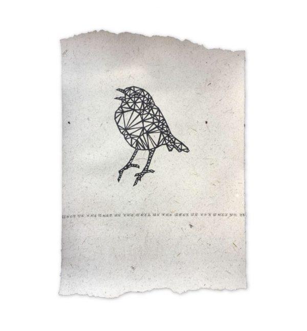 Poster Roodborstje | NA Design