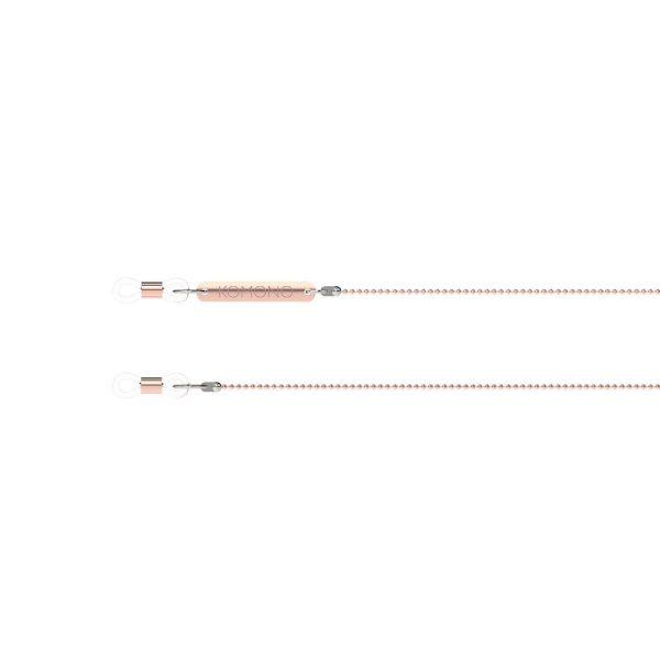 Micro Bubble Rose Gold Cord | Komono