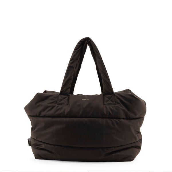 Black Camill Big Puffy Weekend Bag | Tinne+Mia