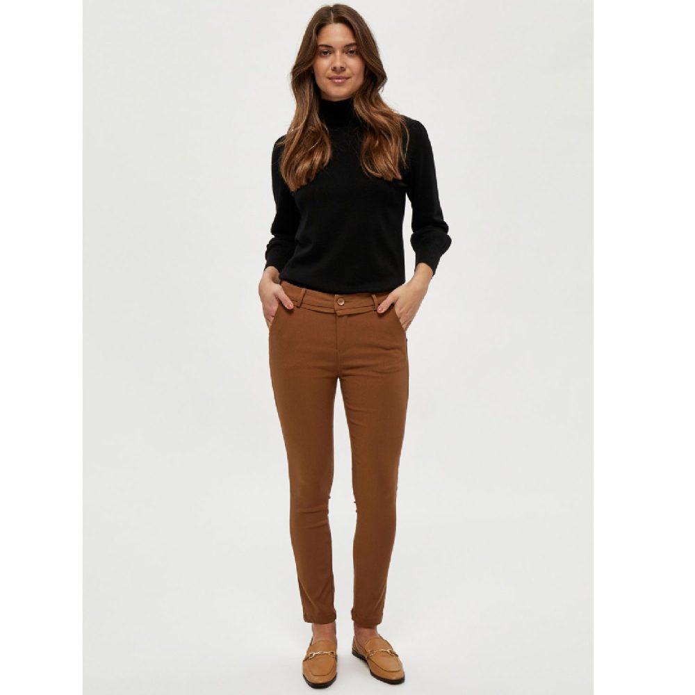 Carma Pants Walnut Brown 7/8 | Minus