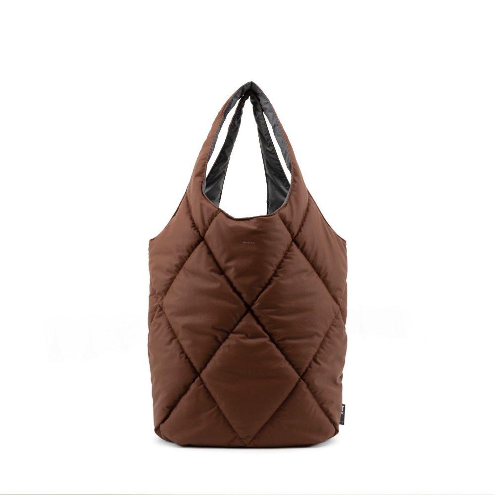 Brownie Carmel puffy bold bag | Tinne+Mia