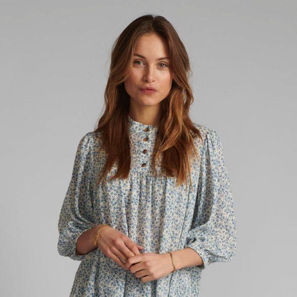 Nucaltum Shirt Cashmere Blue | Nümph