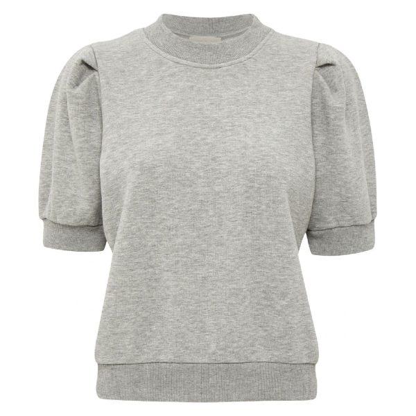 Mika Sweat Light Grey Melange | Minus