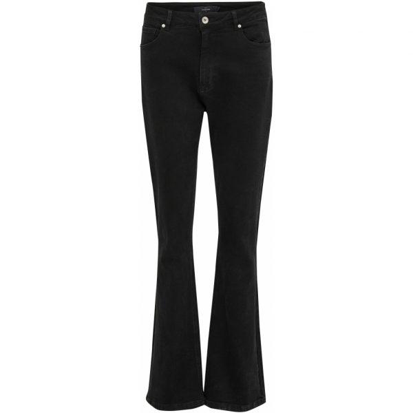 Linda jeans Black denim | Peppercorn