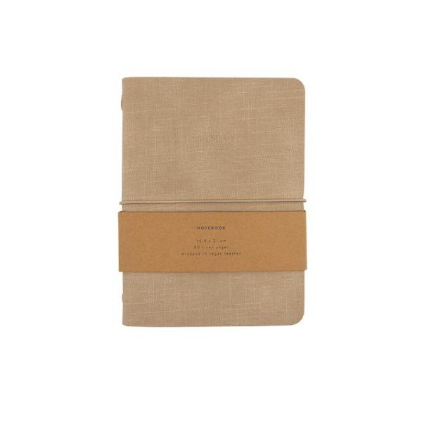 Sea Shell Notebook M Vegan Leather | Monk&Anna