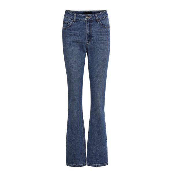 Linda jeans Mid Blue denim | Peppercorn