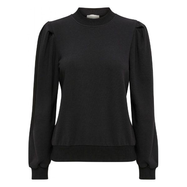 Mika Long Sleeve Sweat Black | Minus