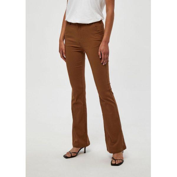 Walnut Brown Carma Flared Pants | Minus