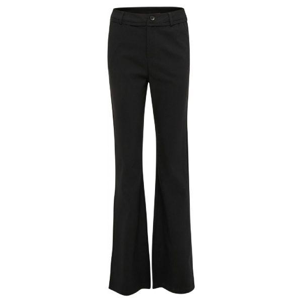 Flared Black Carma Pants | Minus